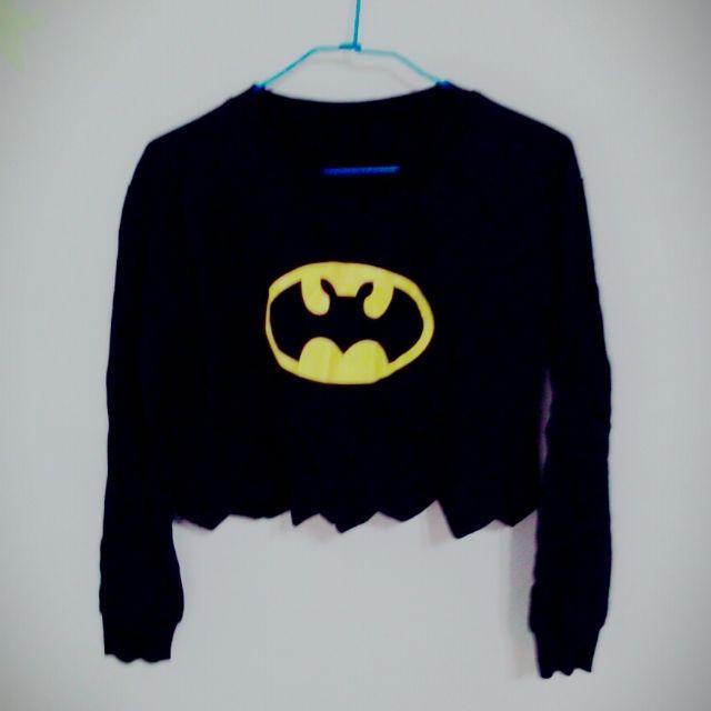 蝙蝠俠短版上衣