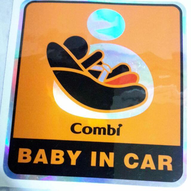 寶寶☺汽車警示貼紙