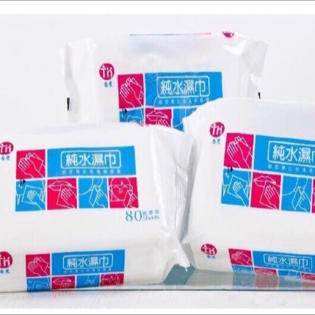 台農濕紙巾 80抽/一箱12包
