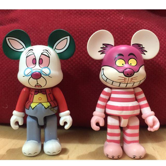 迪士尼 愛麗絲夢遊仙境 妙妙貓 時間兔 cosmi series1