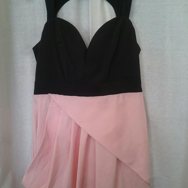 Ally Fashion Pink Dress