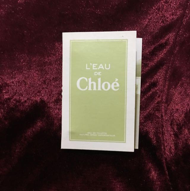 Chloe 水漾玫瑰女性淡香水 針管