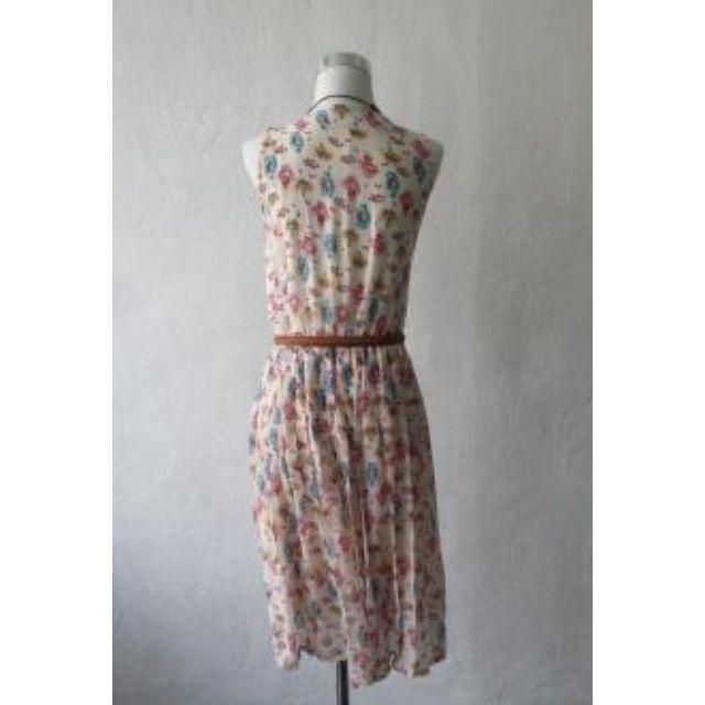 Cotton Dress (Korea), silky soft material, pleated waist.