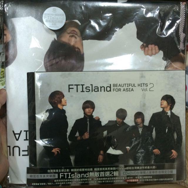 FTIsland無敵首選2輯CD+DVD台灣獨佔豪華影音限定B盤