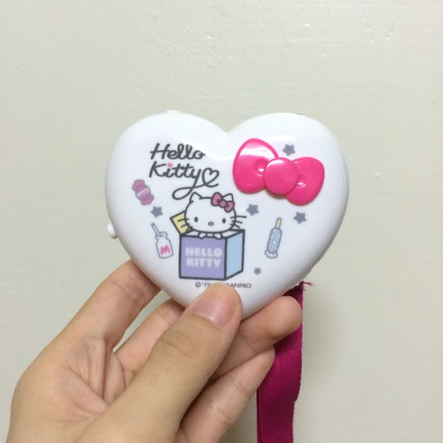 Hello Kitty 電子暖暖蛋(全新含電池)