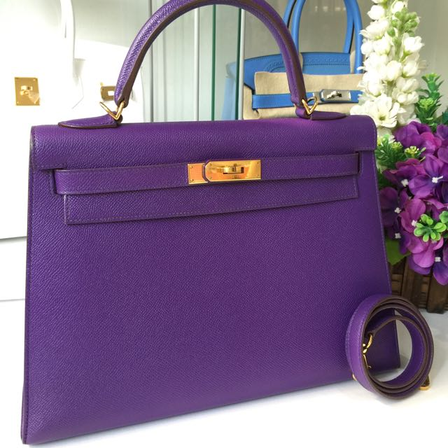 54448323a9 ... coupon code hermes kelly 32 sellier crocus epsom gold hardware luxury  on carousell 537df 5f785