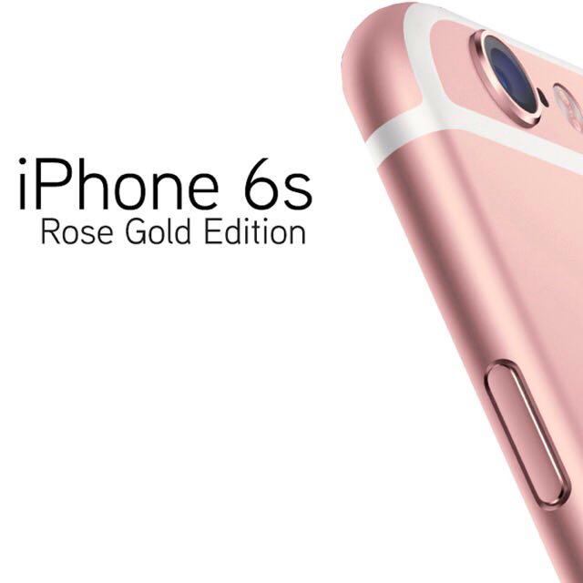 I Phone 6splus 玫瑰金 64G