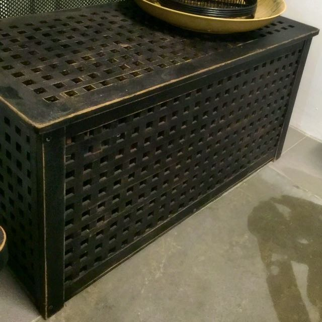 Ikea~Hol Coffee Table/Storage Box, Furniture On Carousell