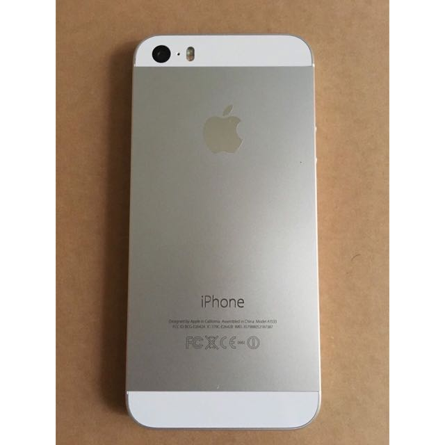 I-Phone 5s 銀色 16G 整新機