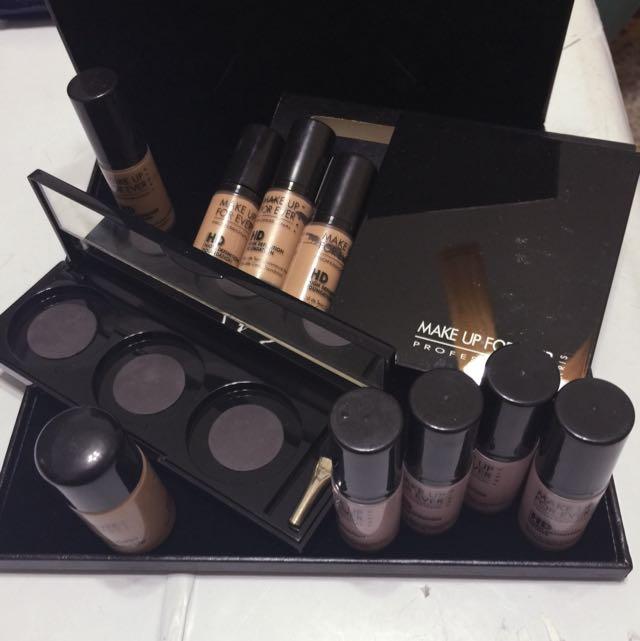 Make Up For Ever鏡盒 HD 雙用水粉爽