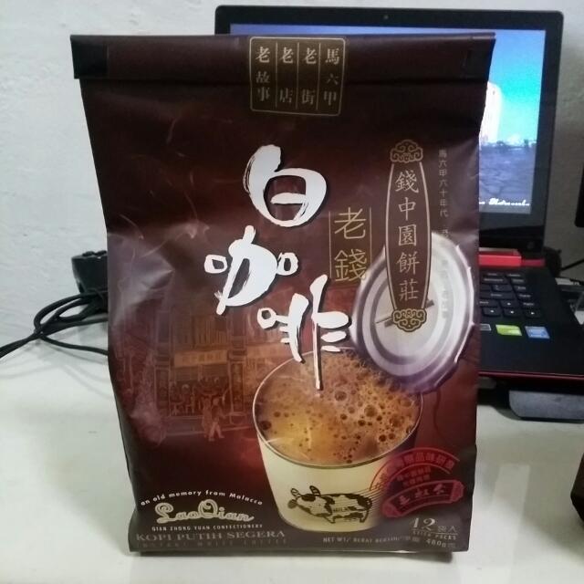 Malacca San Shu Gong Lao Qian Instant White Coffee (12 ...