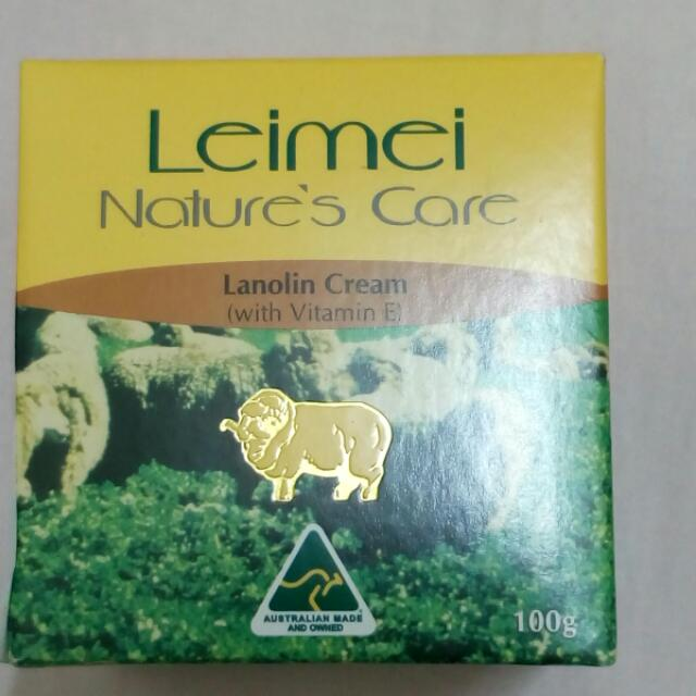【Nature's Care】Leimei 蕾綿羊毛脂維他命E滋潤霜 100g