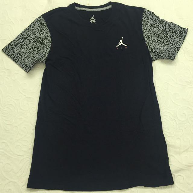 Nike Air Jordan爆裂紋tee