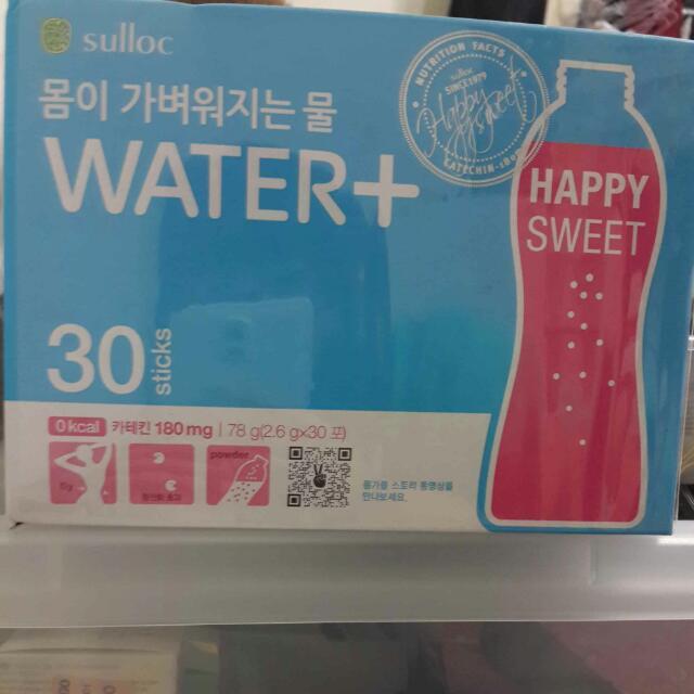 降價!!!O' sulloc water+健康纖體茶-西柚口味