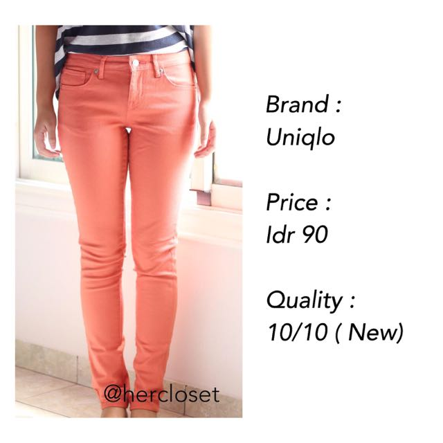 NEW! Peach Jeans