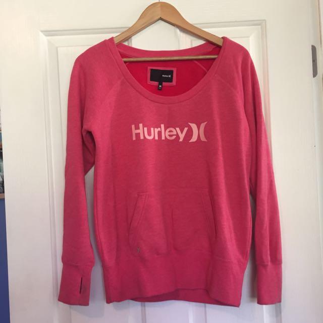 Pinkish/reddish Hurley Jumper