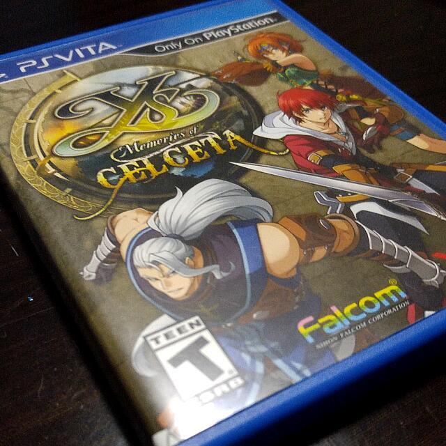 Ps Vita - Ys: Memories Of Celceta