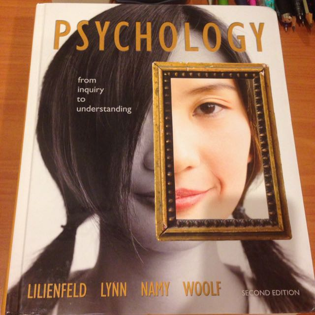 Psychology Textbook: From Inquiry To Understanding (hardcover)