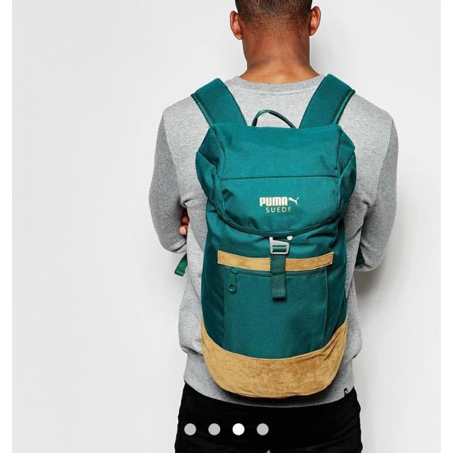 74b9286ef3 Puma Suede Backpack (COMPLETELY BRAND NEW)