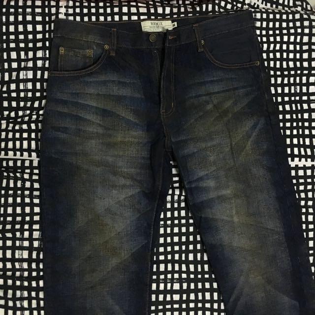 Remix 牛仔褲