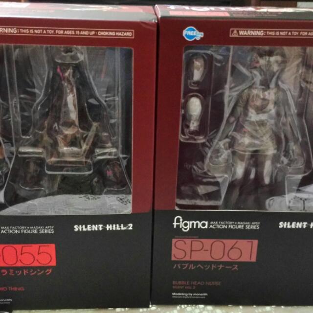 Silent Hill 2 處刑人(三角魔王)和無臉護士 二款一組