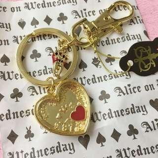 日本帶回 愛麗絲商店 鑰匙圈