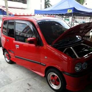 Perodua Kenari Original Window Visors