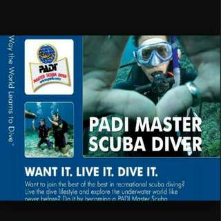 PADI SPECIALTY DIVERS COURSE OPEN FOR BOOKING!
