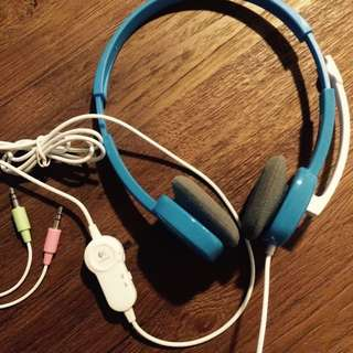 Logitech Headset With Mic - Almost BN