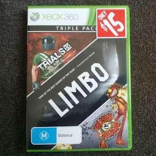 Trails HD, LIMBO, Splosion Man. Xbox 360
