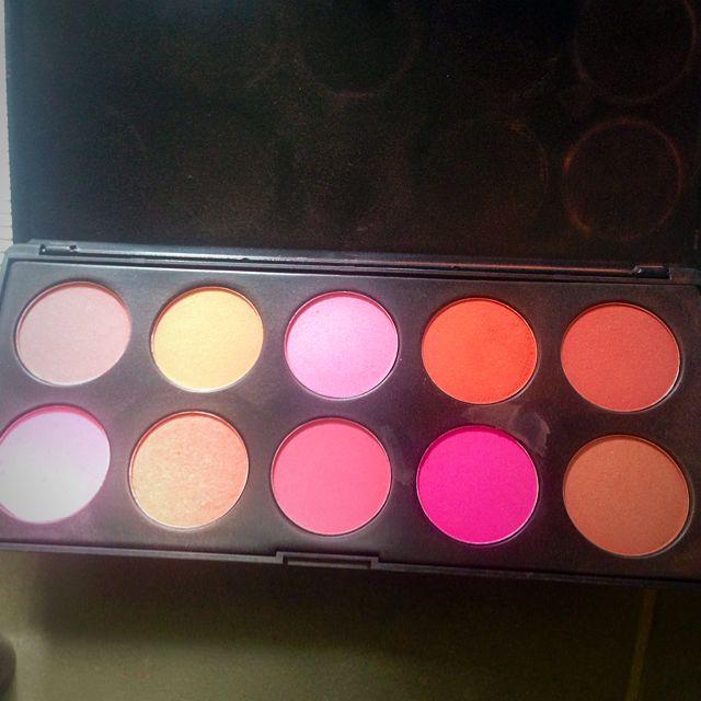 10 Colour Blush Set