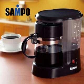 【聲寶】5人份咖啡機 HM-L13051AL