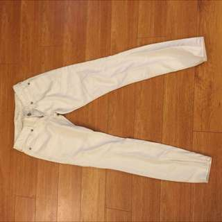 Express brand White Jeans