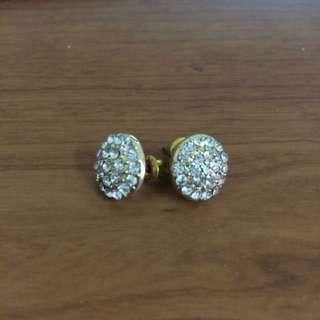 ✨全新✨Forever21 鑽石耳環