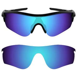 9deec2bd1e7 Dynamix Polarized Replacement Lenses for Oakley RadarLock Path Ice Blue  Mirror