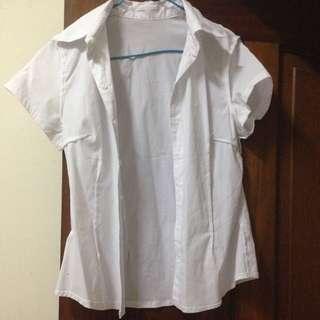 穿過一次 白襯衫