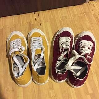 ✨全新現貨✨ 無印良品風格 帆布鞋 女鞋