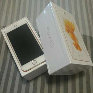 NEW IPHONE 6S 64GB ROSE GOLD