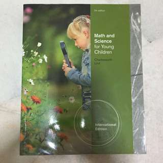 Math And Science For Young Children Textbook