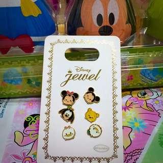 迪士尼樂園正品-tsum系列耳環