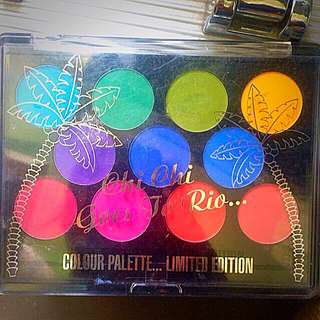 Chi Chi Limited Edition Goes To Rio Palette