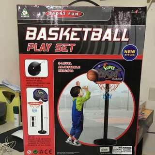 Brand New Basketball Playset