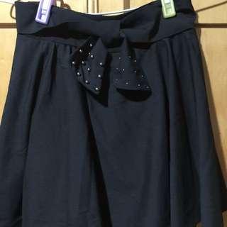 蝴蝶結小短裙