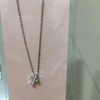 <全新>日本Paris Kid's 水鑽十字架項鍊