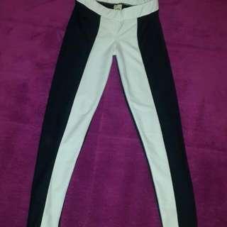 Black And White Legging Pants