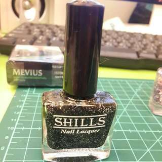 SHILLS光療亮片指甲油