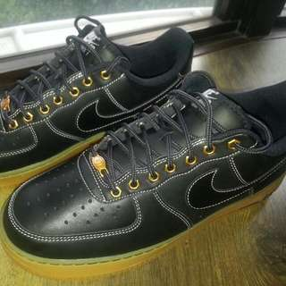a2d8a619291a Nike Air Force 1 Black Gum Workboots
