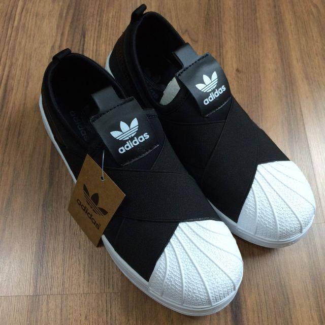 (現貨39號x1)免運 ADIDAS  SUPERSTAR  SLIP  ON  愛迪達 繃帶貝殼休閒鞋  男女皆可穿