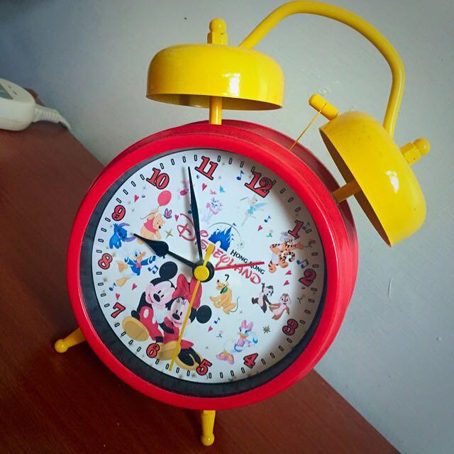 迪士尼米奇米妮鬧鐘