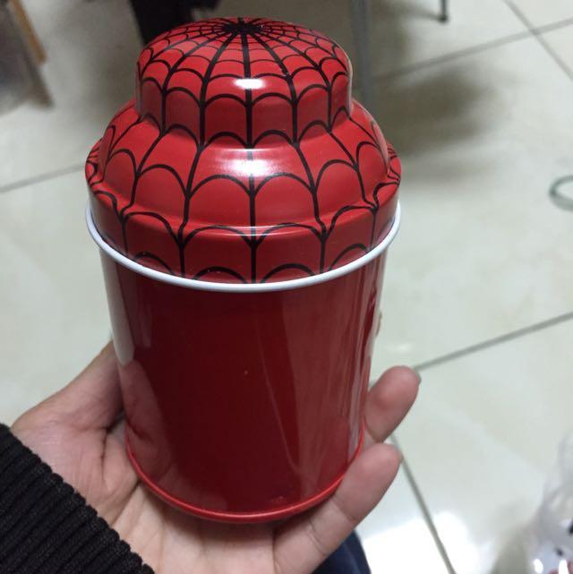 蜘蛛人收納鐵盒